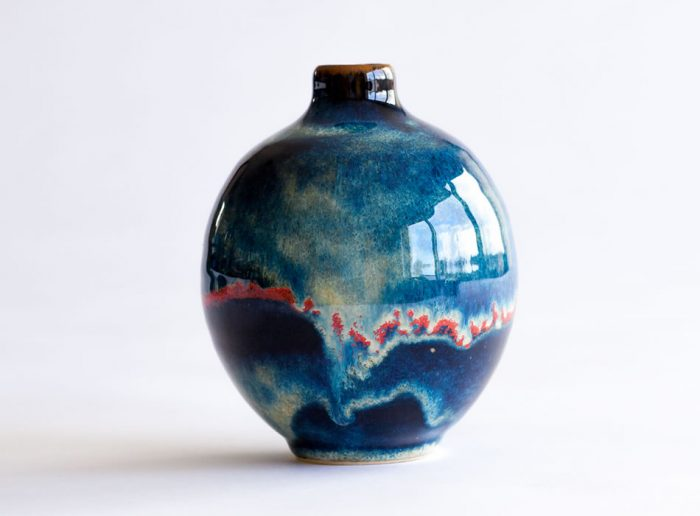 Bud Vase Two   Geoffrey Healy Pottery Wicklow Ireland
