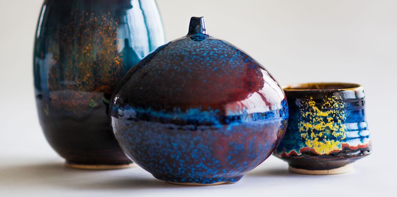 Pottery Exhibition   Ceramic Artist Geoffrey Healy