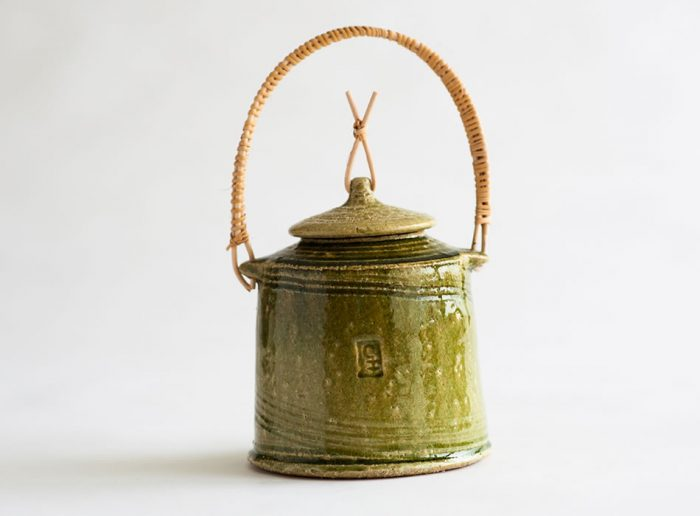Large Tea Caddy One | Geoffrey Healy Pottery