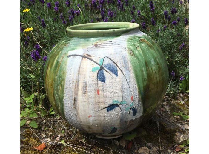Moon Jar One Geoffrey Healy Pottery
