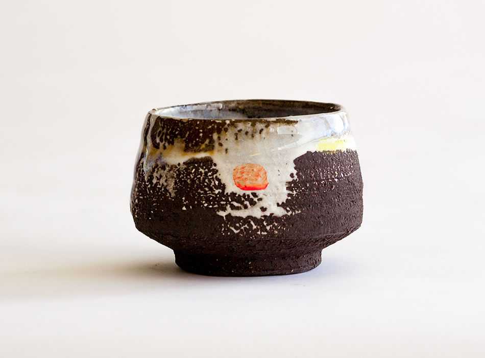 Tea Bowl Four   Handmade Irish Pottery by Geoffrey Healy