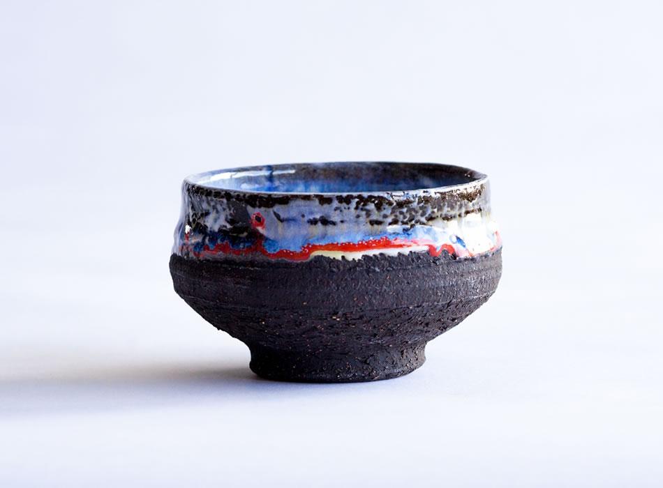 Tea Bowl Three   Geoffrey Healy Pottery