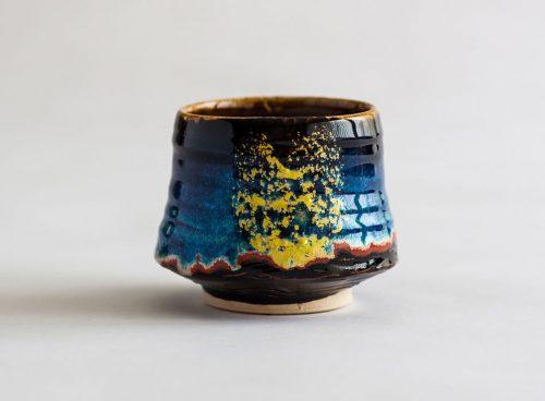 Tea Bowl Two Geoffrey Healy Pottery Studio Wicklow Ireland