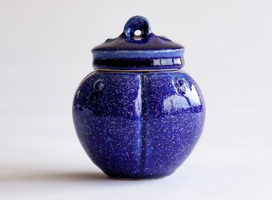 Tea Caddy Four | Handmade Irish Pottery by Geoffrey Healy