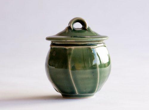 Tea Caddy Three | Handmade Irish Pottery by Geoffrey Healy
