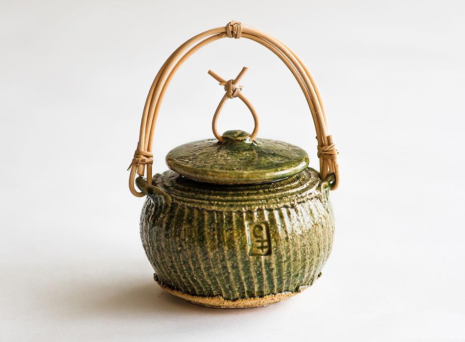 Tea Caddy Two | Geoffrey Healy Pottery Studio Ireland