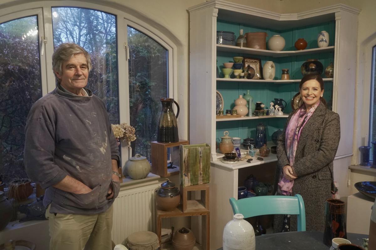 Geoffrey Healy Pottery Studio Wicklow